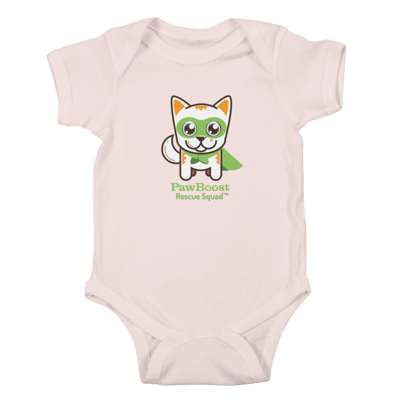 Moby (cat) Kids Baby Bodysuit by PawBoost's Shop