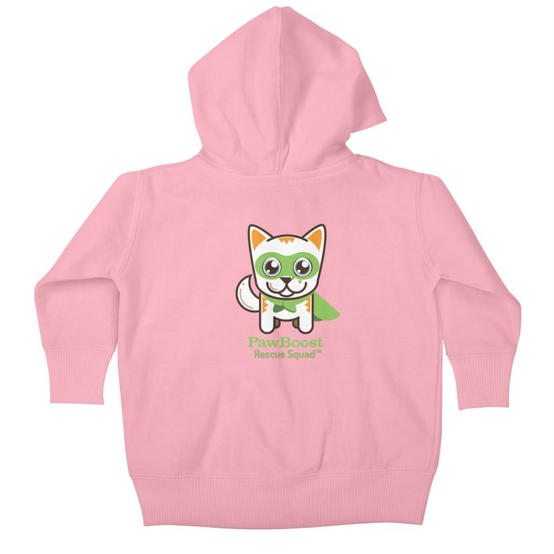 Moby (cat) Kids Baby Zip-Up Hoody by PawBoost's Shop