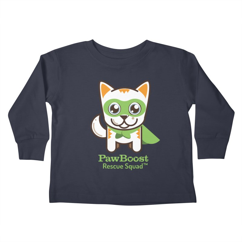 Moby (cat) Kids Toddler Longsleeve T-Shirt by PawBoost's Shop