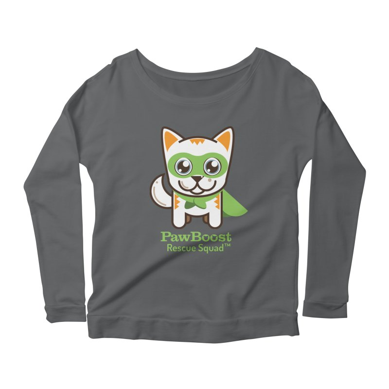 Moby (cat) Women's Longsleeve Scoopneck  by PawBoost's Shop