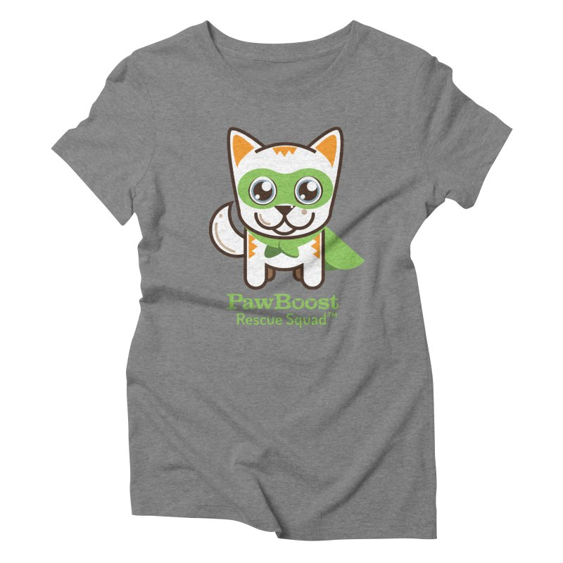 Moby (cat) Women's Triblend T-Shirt by PawBoost's Shop