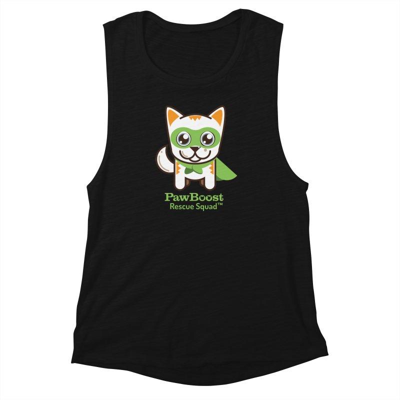 Moby (cat) Women's Muscle Tank by PawBoost's Shop