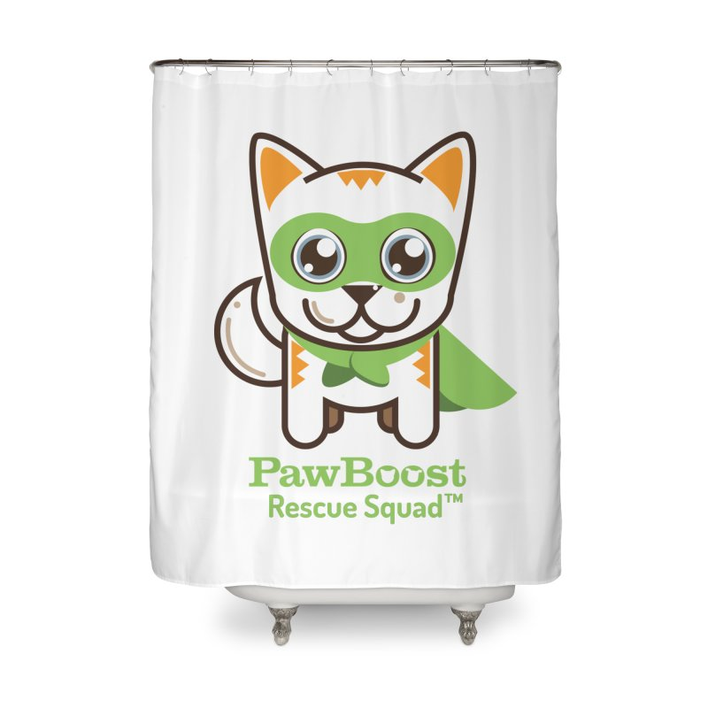 Moby (cat) Home Shower Curtain by PawBoost's Shop