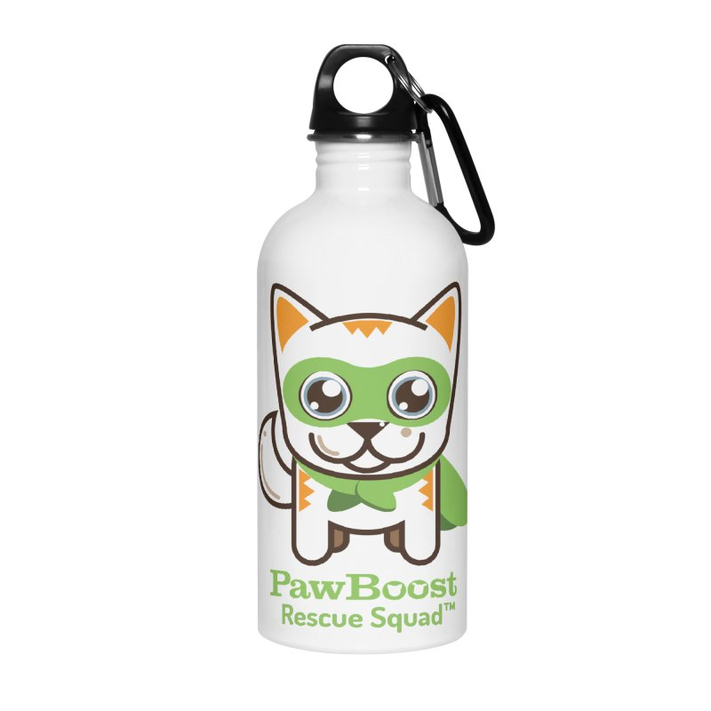 Moby (cat) Accessories Water Bottle by PawBoost's Shop