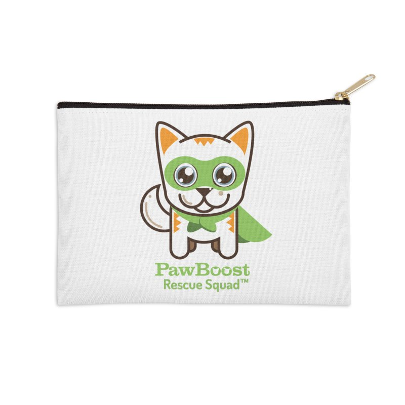 Moby (cat) Accessories Zip Pouch by PawBoost's Shop