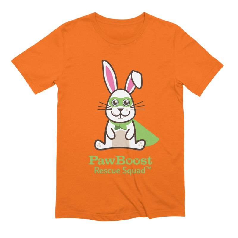 Riley (rabbit) Men's Extra Soft T-Shirt by PawBoost's Shop