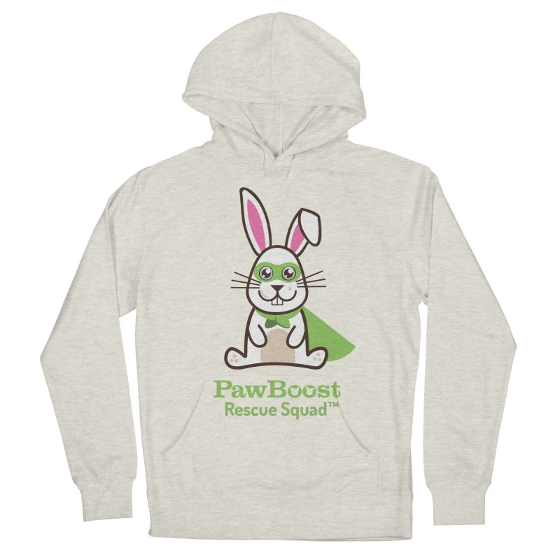 Riley (rabbit) Men's French Terry Pullover Hoody by PawBoost's Shop