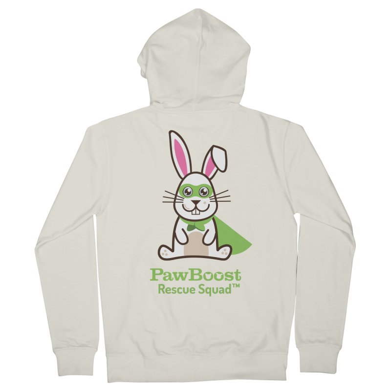 Riley (rabbit) Women's French Terry Zip-Up Hoody by PawBoost's Shop