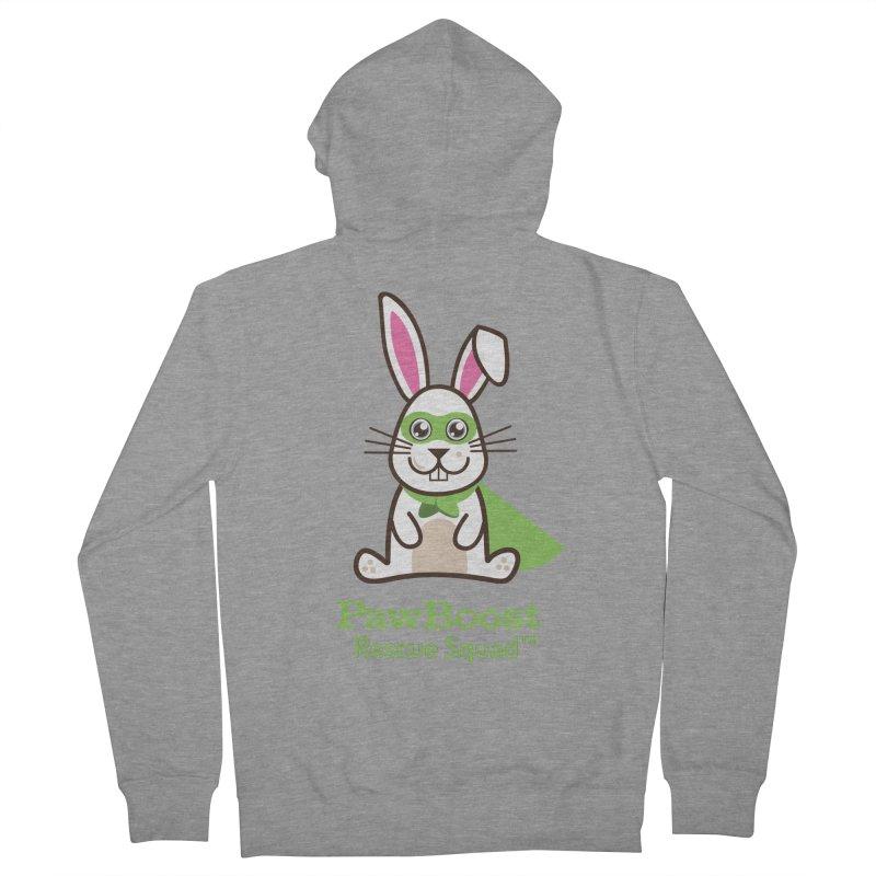 Riley (rabbit) Men's Zip-Up Hoody by PawBoost's Shop