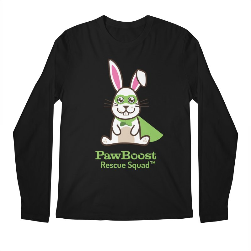 Riley (rabbit) Men's Longsleeve T-Shirt by PawBoost's Shop