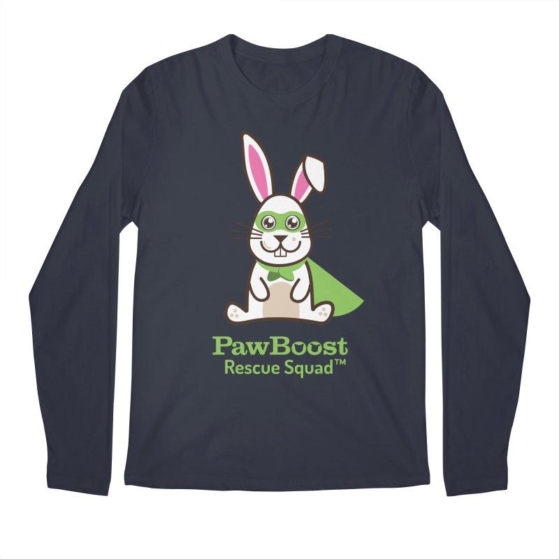 Riley (rabbit) Men's Regular Longsleeve T-Shirt by PawBoost's Shop