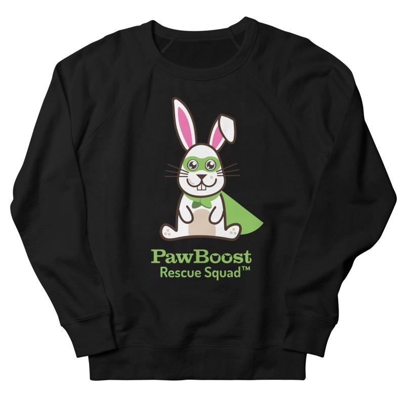 Riley (rabbit) Men's French Terry Sweatshirt by PawBoost's Shop