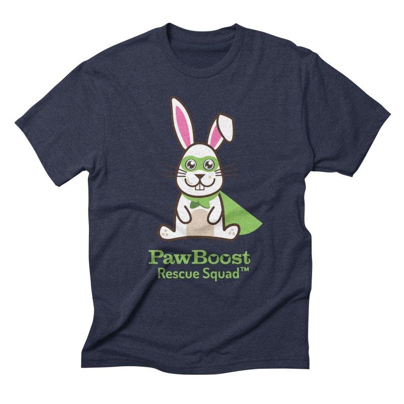 Riley (rabbit) Men's Triblend T-Shirt by PawBoost's Shop