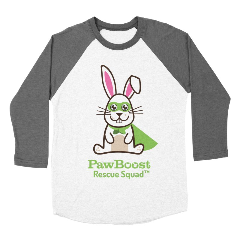 Riley (rabbit) Women's Baseball Triblend T-Shirt by PawBoost's Shop