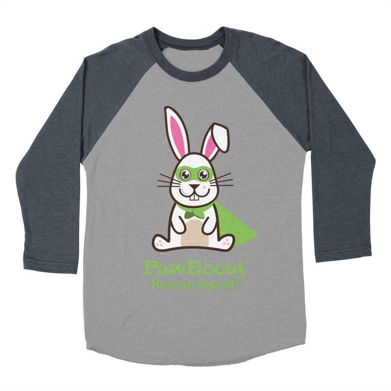 Riley (rabbit) Women's Baseball Triblend T-Shirt by PawBoost's Shop