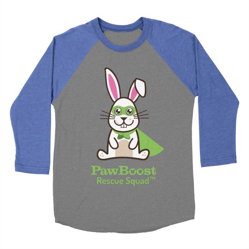Riley (rabbit) Men's Baseball Triblend T-Shirt by PawBoost's Shop