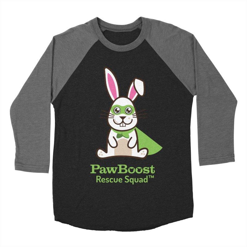 Riley (rabbit) Men's Baseball Triblend Longsleeve T-Shirt by PawBoost's Shop