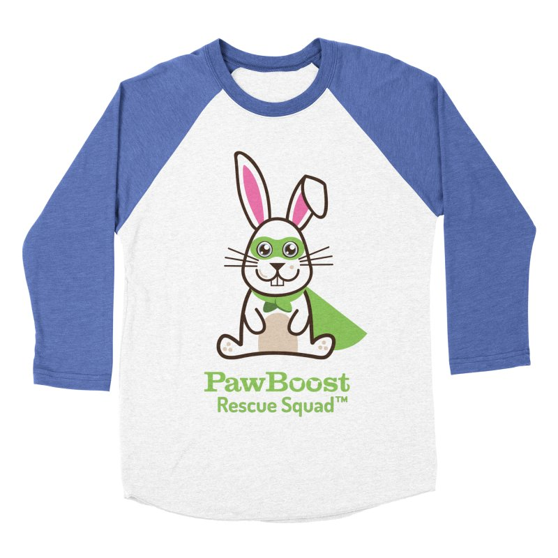 Riley (rabbit) Men's Baseball Triblend Longsleeve T-Shirt by PawBoost's Shop
