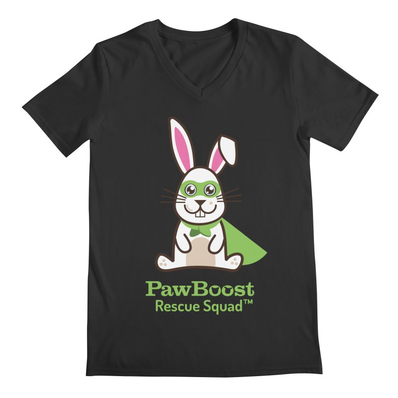 Riley (rabbit) Men's V-Neck by PawBoost's Shop