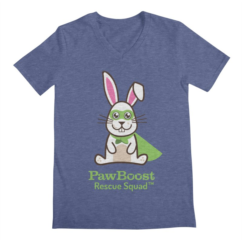 Riley (rabbit) Men's Regular V-Neck by PawBoost's Shop