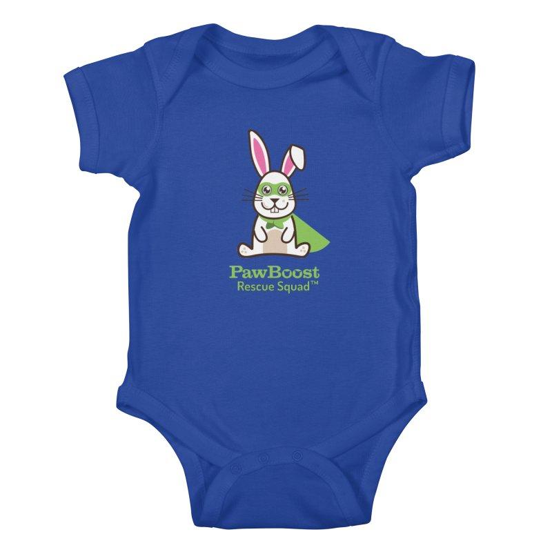 Riley (rabbit) Kids Baby Bodysuit by PawBoost's Shop