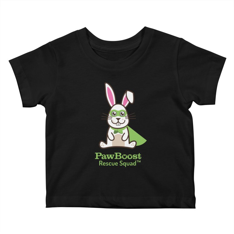 Riley (rabbit) Kids Baby T-Shirt by PawBoost's Shop