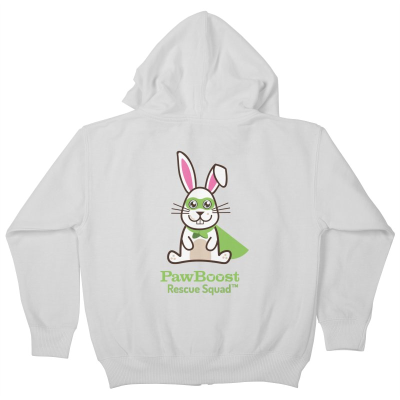 Riley (rabbit) Kids Zip-Up Hoody by PawBoost's Shop