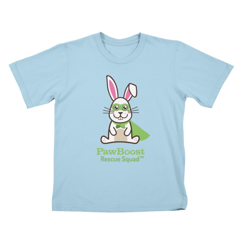 Riley (rabbit) Kids T-Shirt by PawBoost's Shop
