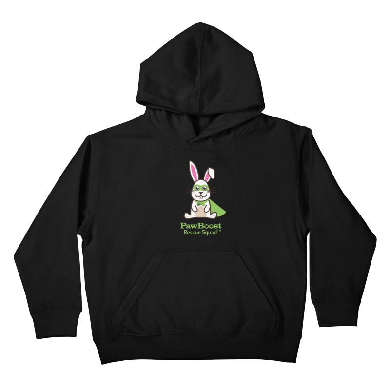 Riley (rabbit) Kids Pullover Hoody by PawBoost's Shop