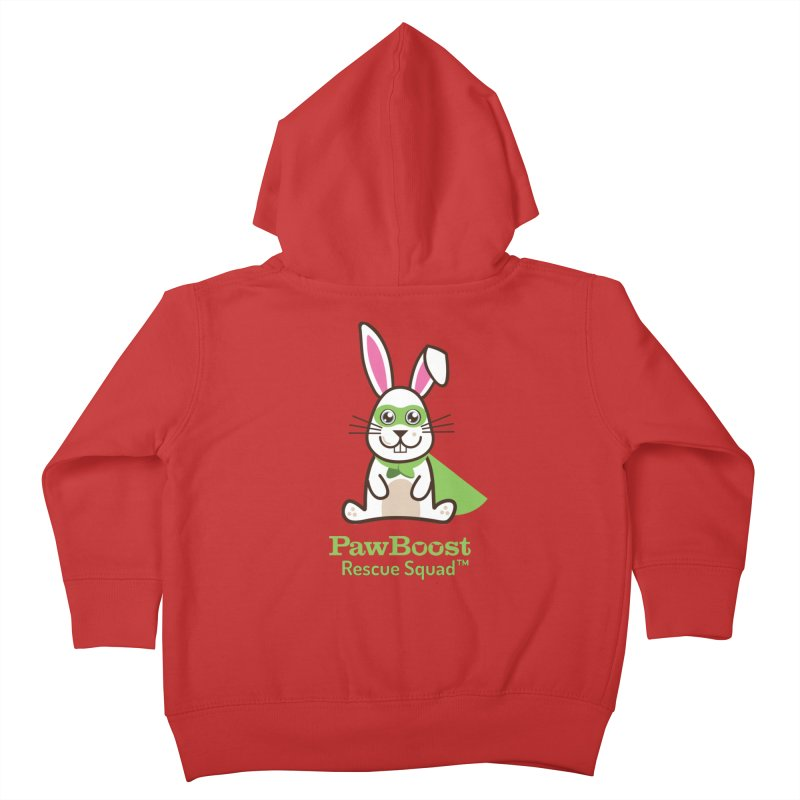 Riley (rabbit) Kids Toddler Zip-Up Hoody by PawBoost's Shop