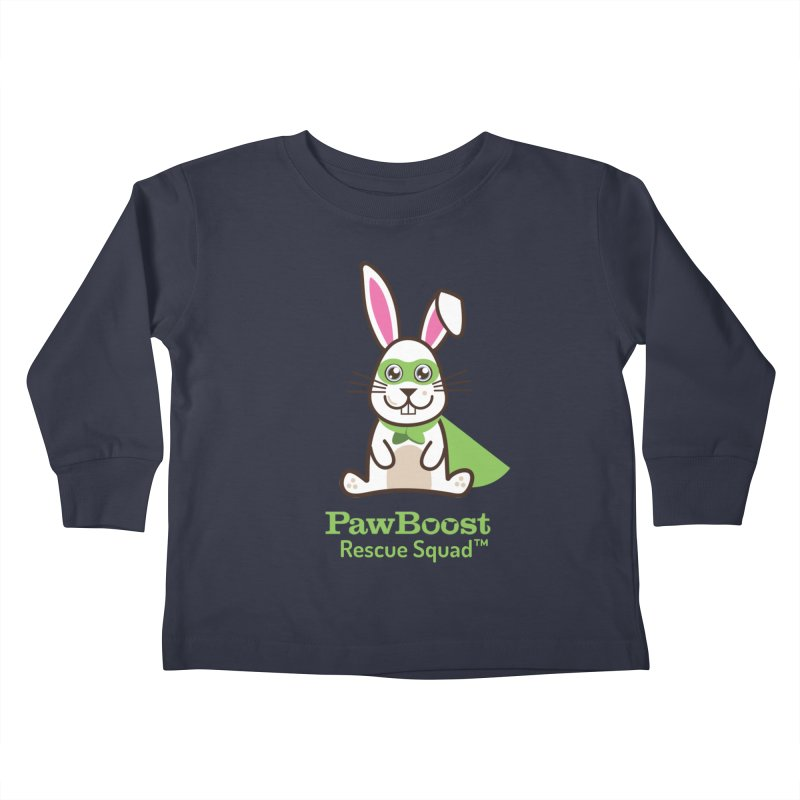 Riley (rabbit) Kids Toddler Longsleeve T-Shirt by PawBoost's Shop