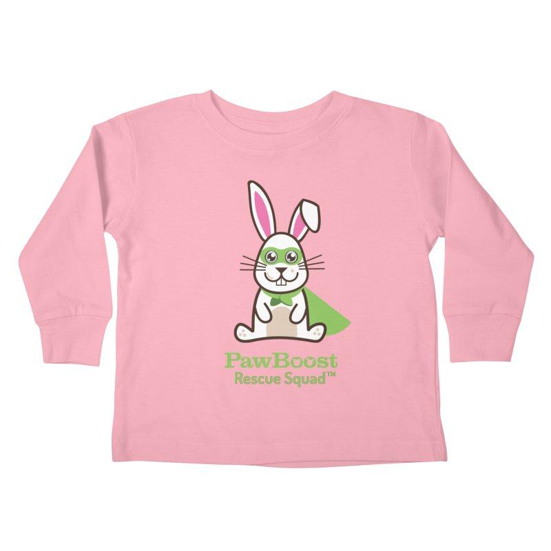 Riley (rabbit) Kids Toddler Longsleeve T-Shirt by PawBoost's Shop