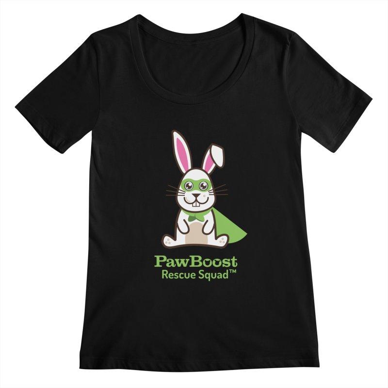 Riley (rabbit) Women's Scoopneck by PawBoost's Shop