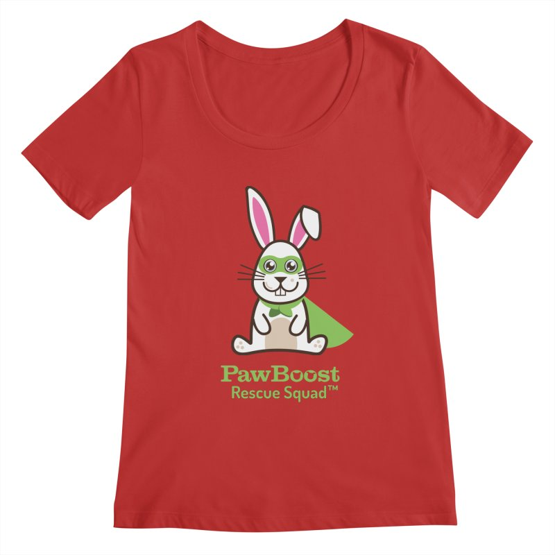 Riley (rabbit) Women's Regular Scoop Neck by PawBoost's Shop
