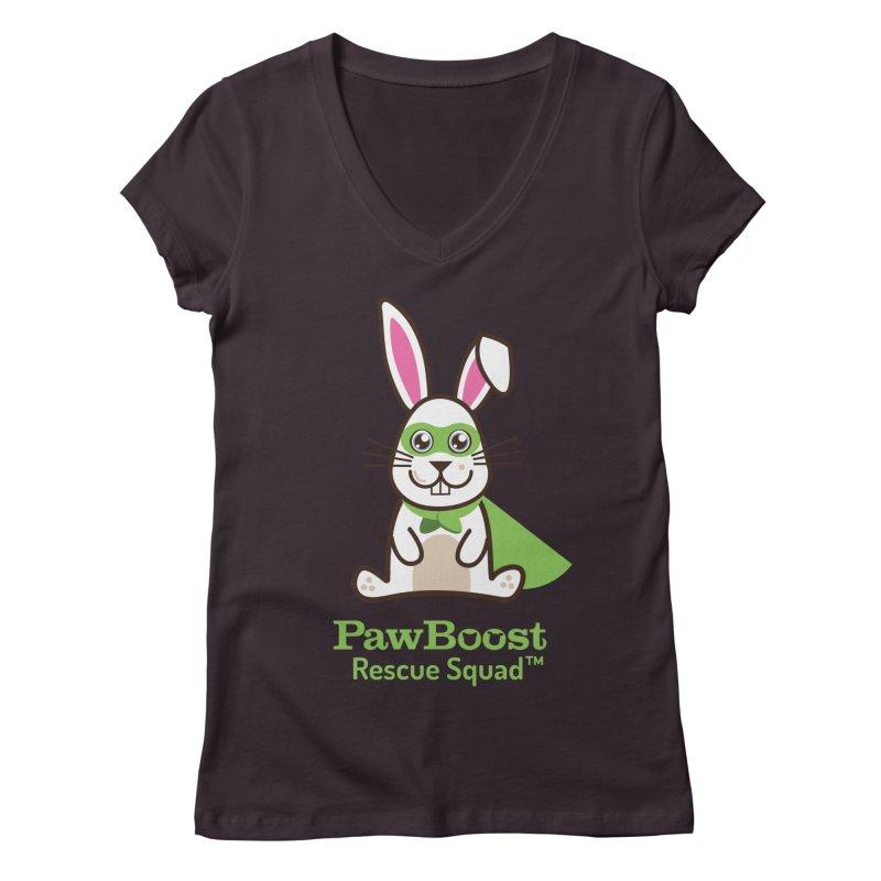 Riley (rabbit) Women's Regular V-Neck by PawBoost's Shop