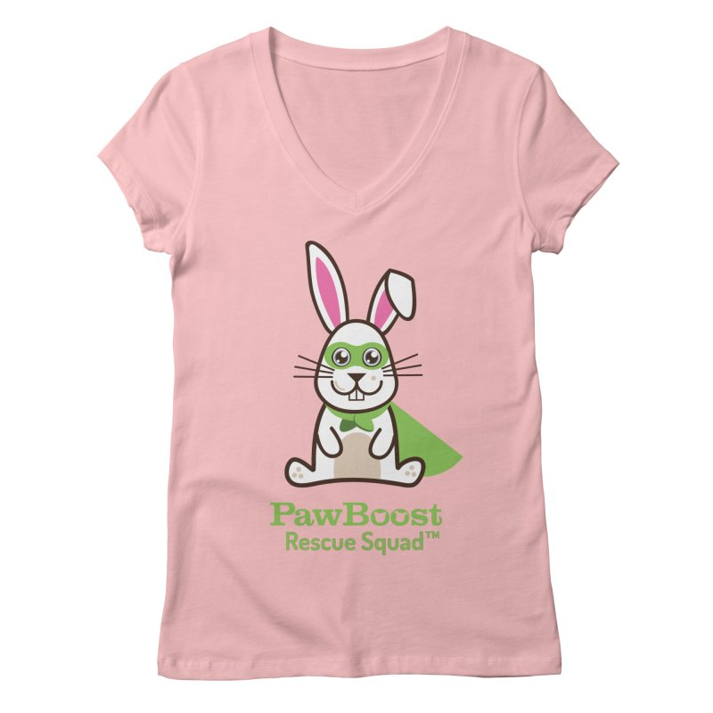 Riley (rabbit) Women's V-Neck by PawBoost's Shop