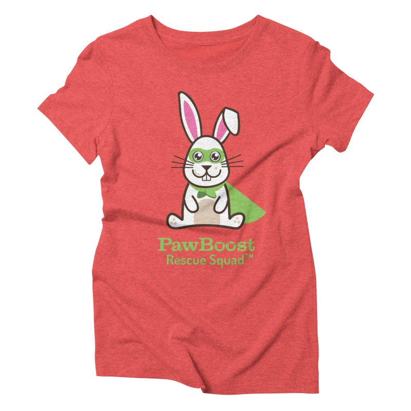 Riley (rabbit) Women's Triblend T-Shirt by PawBoost's Shop