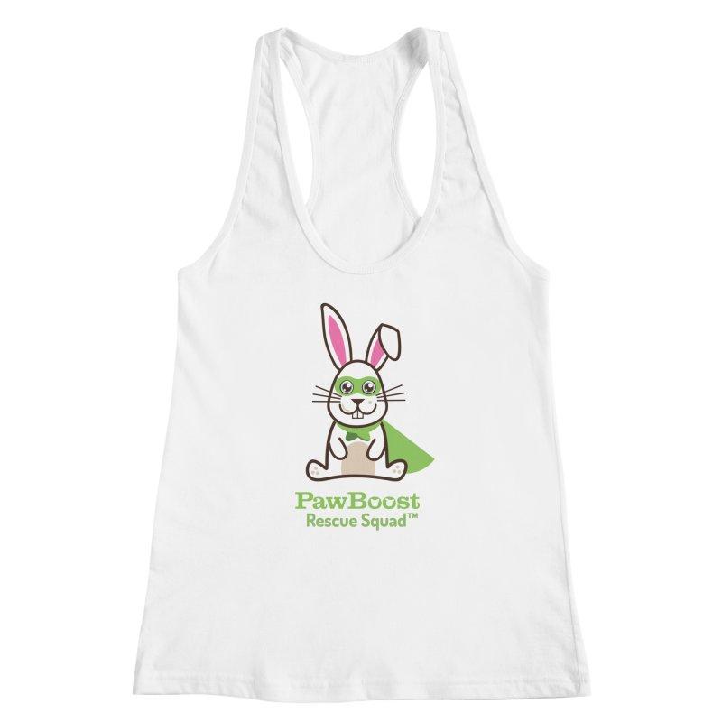 Riley (rabbit) Women's Racerback Tank by PawBoost's Shop