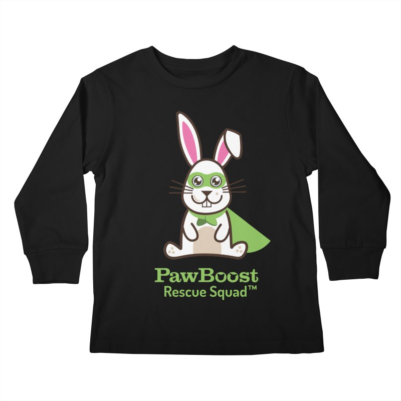 Riley (rabbit) Kids Longsleeve T-Shirt by PawBoost's Shop