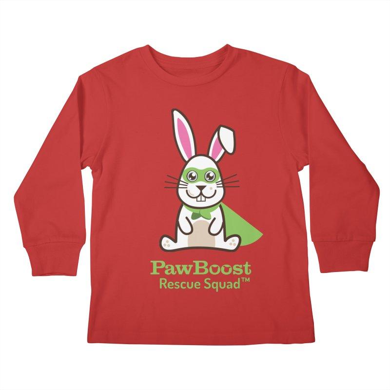 Riley (rabbit) Kids Longsleeve T-Shirt by PawBoost's Shop