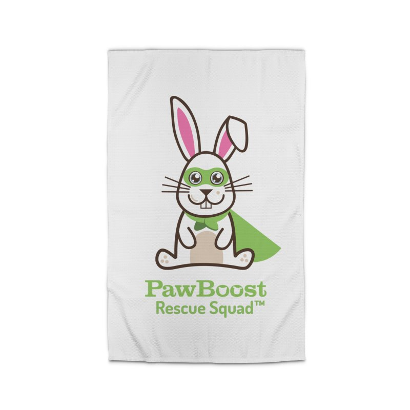 Riley (rabbit) Home Rug by PawBoost's Shop