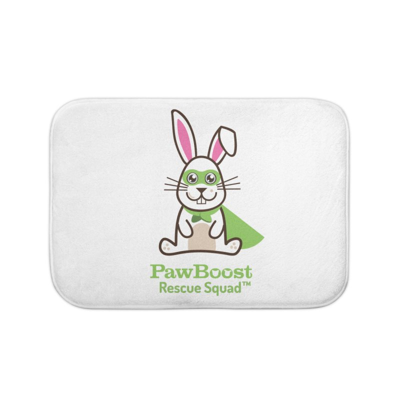 Riley (rabbit) Home Bath Mat by PawBoost's Shop