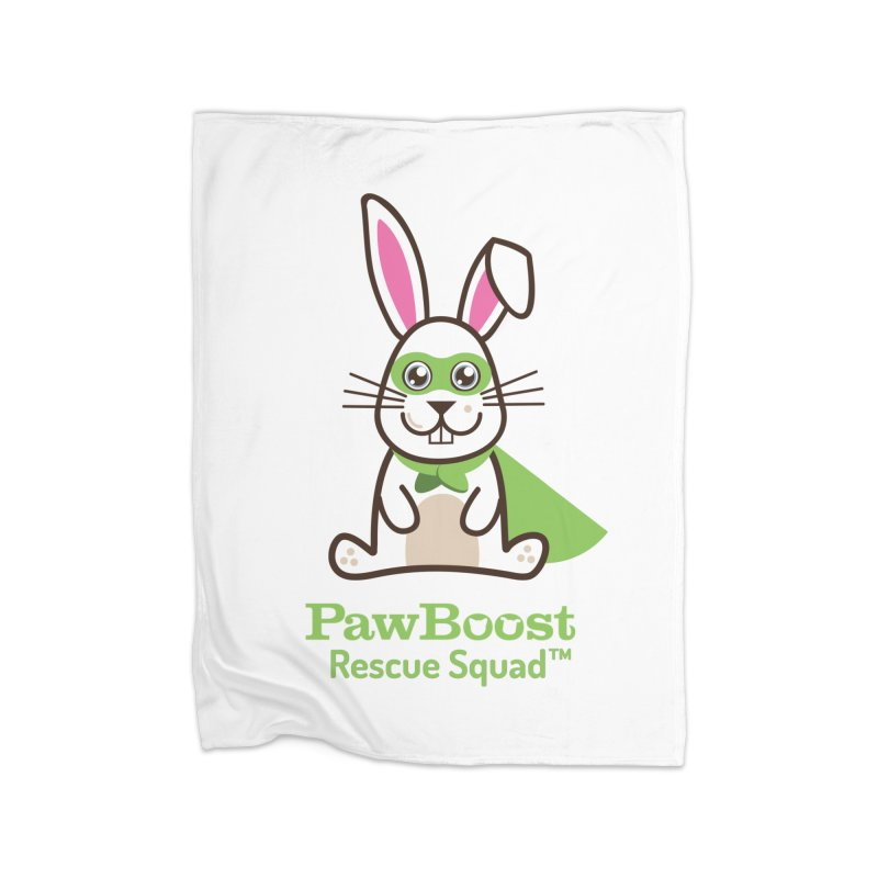 Riley (rabbit) Home Fleece Blanket Blanket by PawBoost's Shop