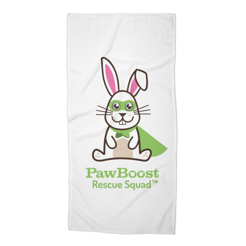 Riley (rabbit) Accessories Beach Towel by PawBoost's Shop