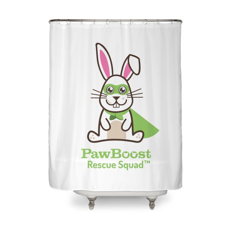 Riley (rabbit) Home Shower Curtain by PawBoost's Shop