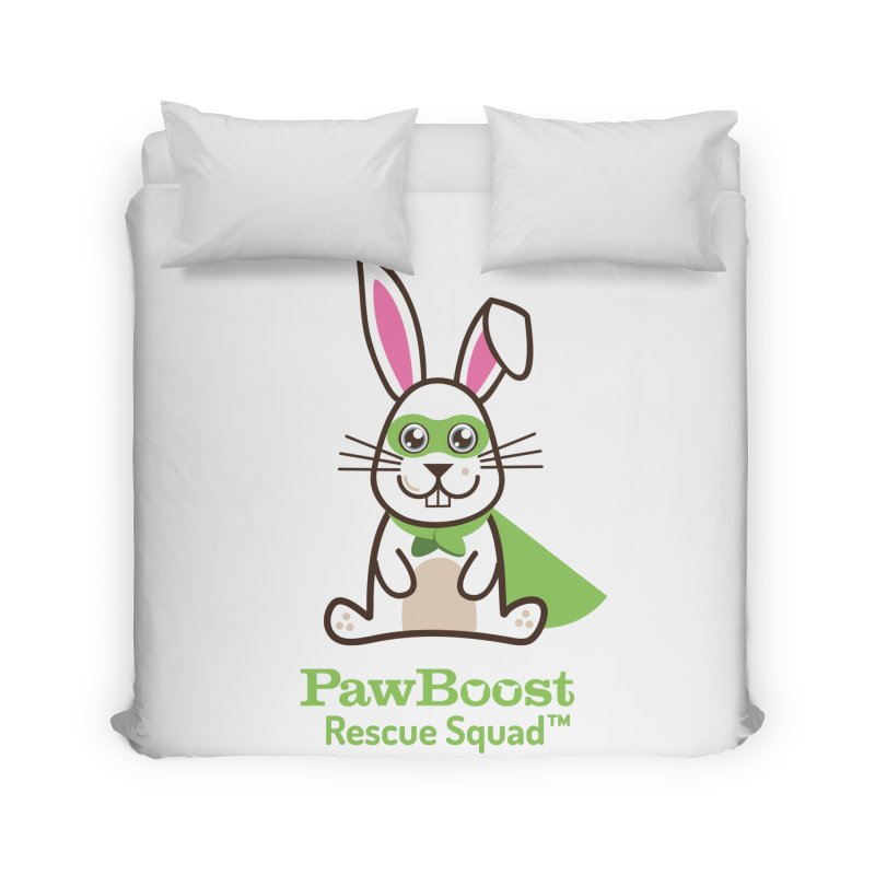 Riley (rabbit) Home Duvet by PawBoost's Shop