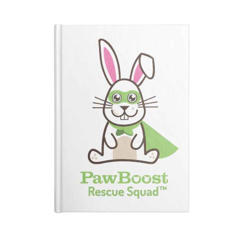 Riley (rabbit) Accessories Notebook by PawBoost's Shop