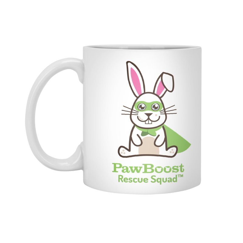 Riley (rabbit) Accessories Mug by PawBoost's Shop