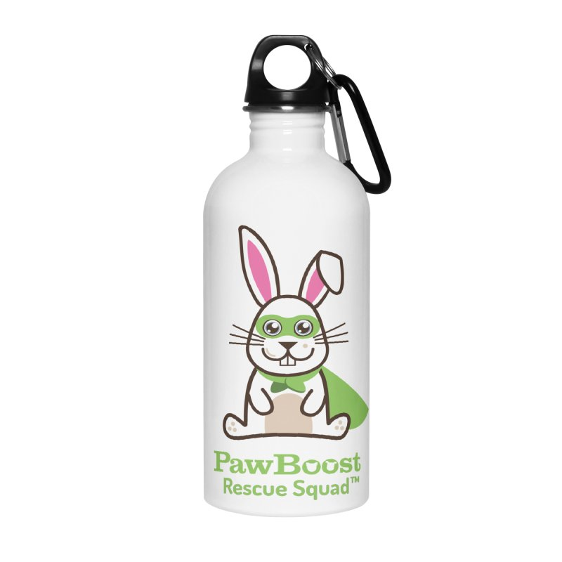 Riley (rabbit) Accessories Water Bottle by PawBoost's Shop