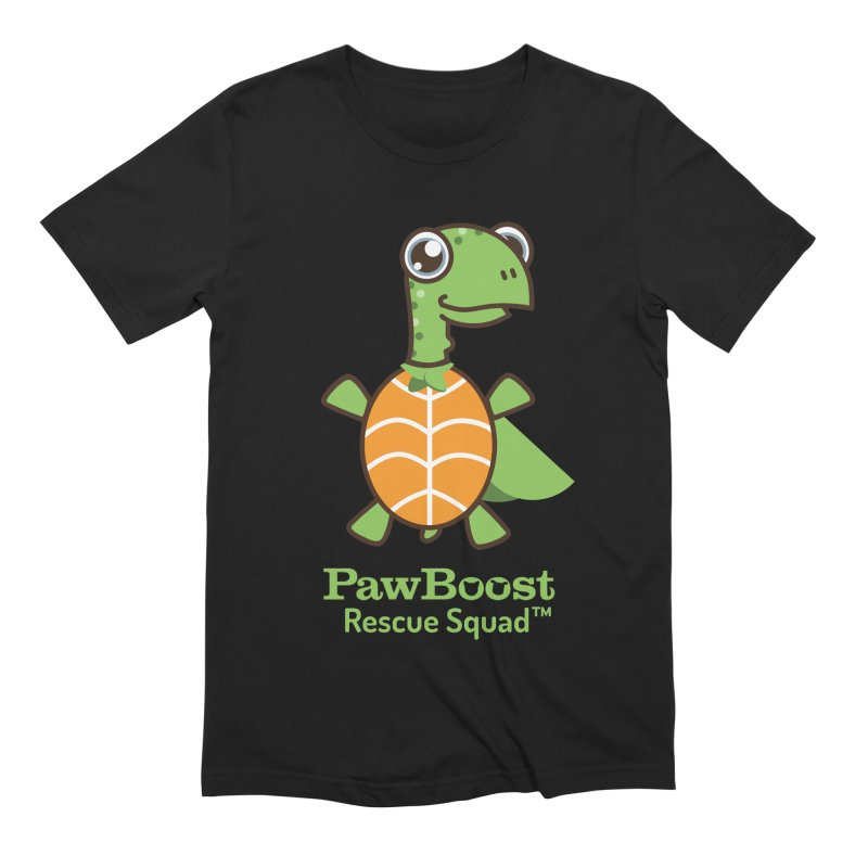 Tommy (turtle) Men's Extra Soft T-Shirt by PawBoost's Shop